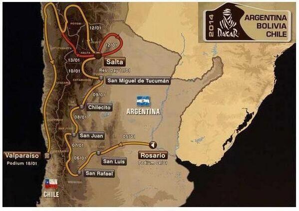 El Dakar ya suena por Radio Olavarría