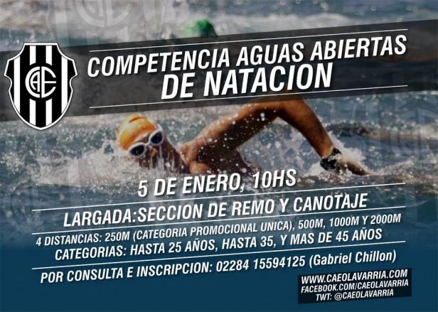 Expectativa por la competencia de aguas abiertas en Estudiantes