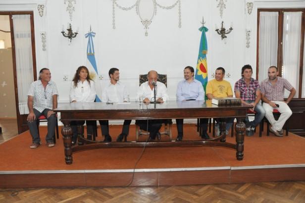 La Madrid: Asunción de Nuevos Funcionarios del Ejecutivo Municipal