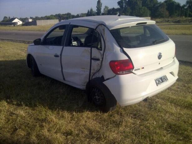 Un herido por accidente en el acceso a Olavarría