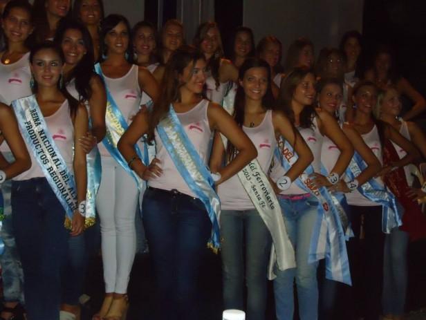 Azul estuvo representada en la Elección de Reinas Nacionales