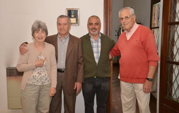Se descubrió una placa en honor al músico olavarriense José Rossi
