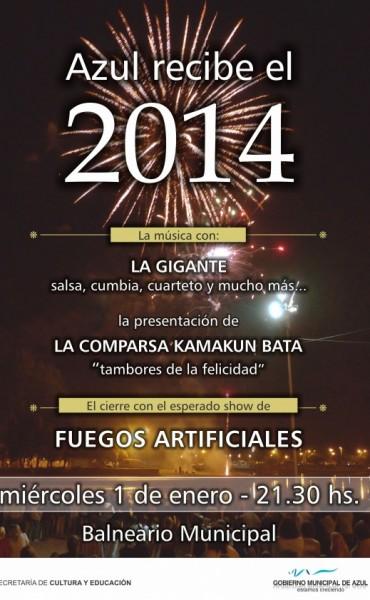 Azul: Este miércoles se realizará el festejo de Año Nuevo en el Balneario Municipal