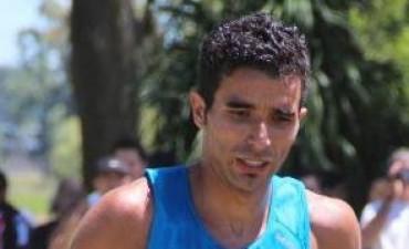 Leo Landaburu finalizó tercero en Tandil.