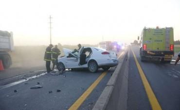 En la Autovía de la ruta 226 murió  una azuleña en un accidente de tránsito