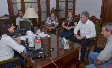 Margarita Arregui recibió a representantes de la ciudad de Leiria, Portugal