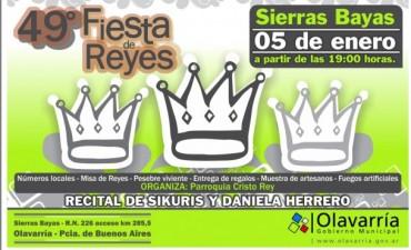Se realiza la 49º Fiesta de los Reyes Magos con el cierre de Daniela Herrero
