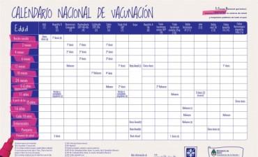 Anuncian la incorporación de una nueva vacuna al calendario nacional