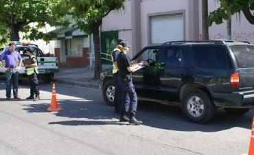 La Dirección de Control Municipal intensifica los operativos de tránsito
