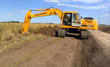 El Gobierno Municipal realiza trabajos de mejoramiento en el acceso a Santa Luisa