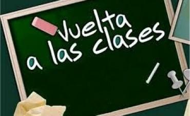 Ratifican para el 5 de marzo inicio de clases en la Provincia