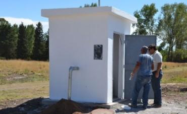 Se libera al servicio público la red de agua corriente en el barrio Isaura
