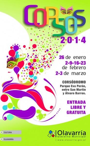 Organigrama de los Corsos Olavarría 2014