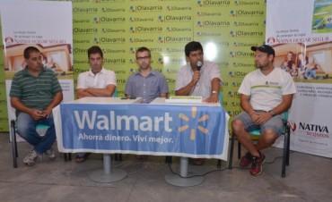 """Cristian Delpiani encabezó la presentación del desafío """"Aventura Olavarría"""""""