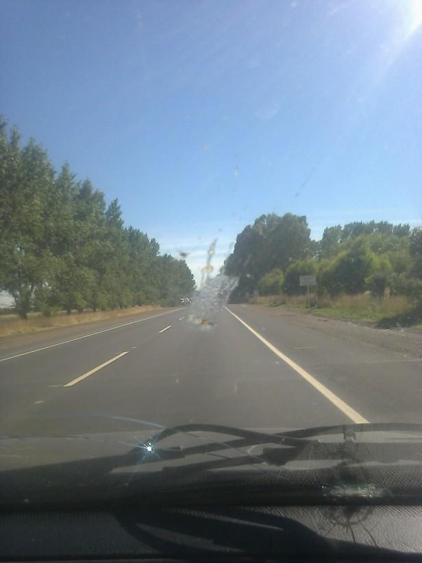 Ruta 51: casi concluidos los trabajos en el tramo de Loma Negra