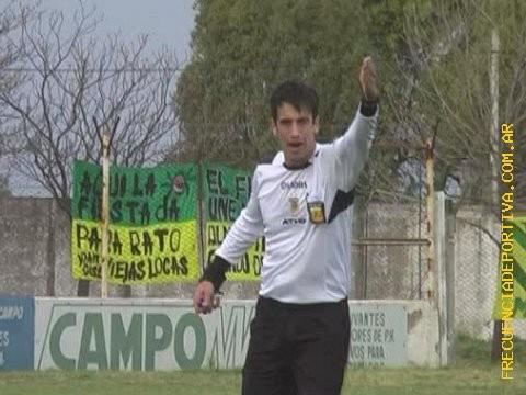 El puntaltense  Fernando Marcos dirigirá el domingo en Viedma
