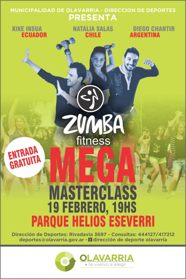 Mega Masterclass de Zumba Fitness en el Parque Helios Eseverri