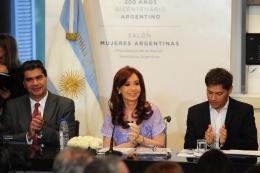 La Presidenta habló por Cadena Nacional
