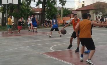 Comenzaron los torneos de Basquet 3 x 3