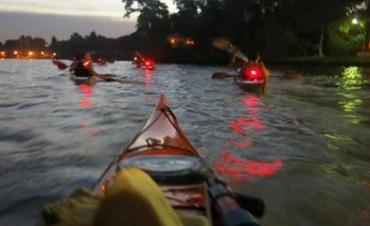 Canotaje: Primera Remada Nocturna del 2015