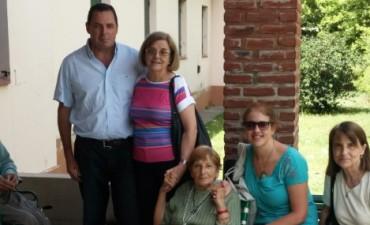 El Senador Vitale visitó el Hogar de Ancianos de Olavarría