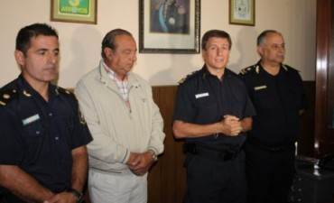 Un olavarriense, jefe comunal de la policía de Tres Arroyos