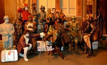 Primer Encuentro Nacional de Estatuas Vivientes en Olavarría