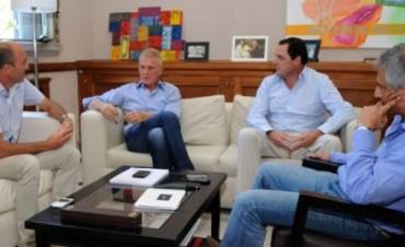 De Narváez y Eseverri se reunieron en Olavarría