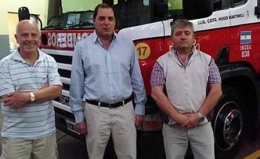 Vitale y dos proyectos: asistencia a bomberos y Mecenazgo