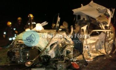 Ruta 3:choque fatal en Las Flores