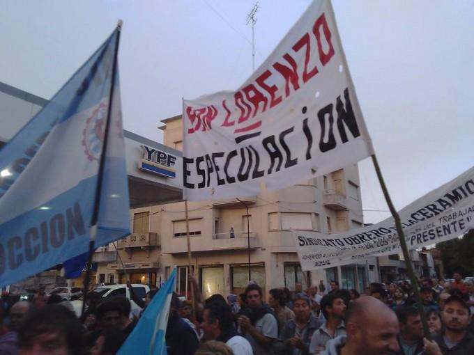 Ceramistas azuleños en plan de lucha por despidos