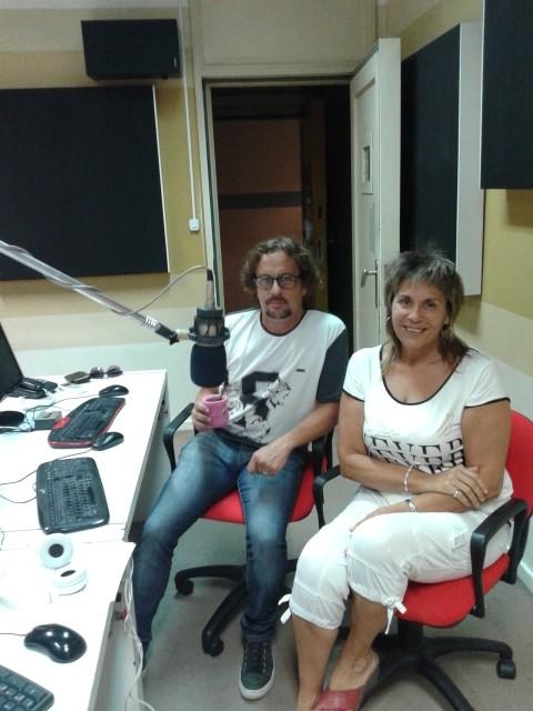 Un periodista y escritor de Olavarría en Ciudad Mágica