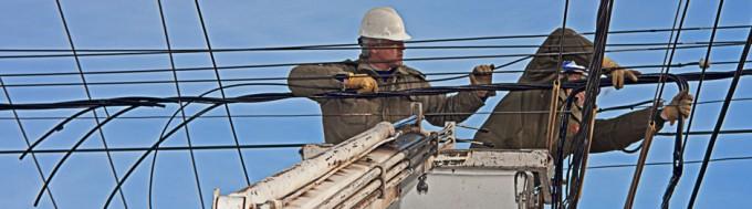 Algunos problemas eléctricos en la zona rural tras el viento