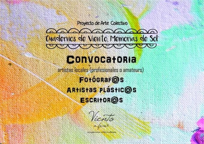 Convocan a artistas a una publicación colectiva