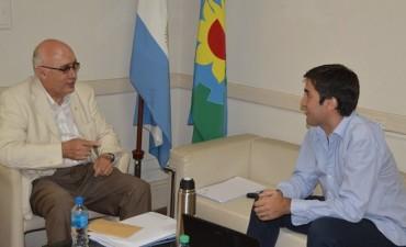 Saladillo: Gorosito se reunió con Manuel Mosca en La Plata