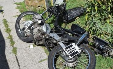 Falleció el motociclista accidentado el 31