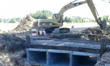 Continúan las obras para el puente en calle 157 y  vías del ferrocarril