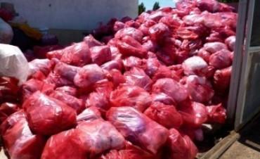 Residuos Patogénicos: comenzó el retiro de lo acumulado