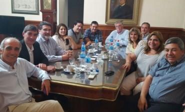Legisladores se reunieron con el Vicegobernador Daniel Salvador