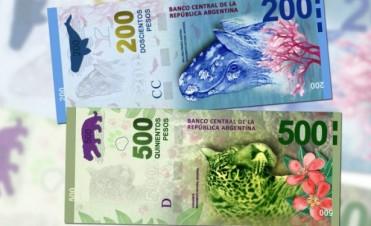 Economía El Banco Central emitirá billetes de $200, $500 y $1.000 con figuras de animales