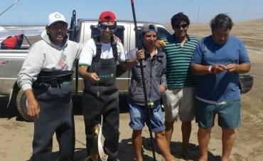Radio Olavarría en certamen de pesca en Marisol