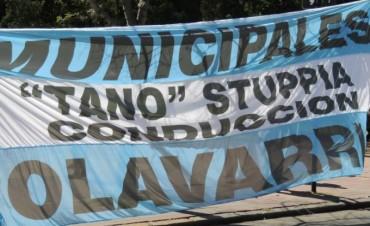 Los municipales de Olavarría en estado de alerta y movilización