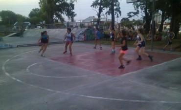 Jornada de Gym y basquet 3 x 3