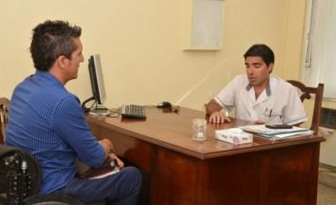 Reunión entre la Dirección de Discapacidad y CORPI