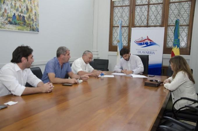 Firma de convenios con la Facultad de Ingeniería
