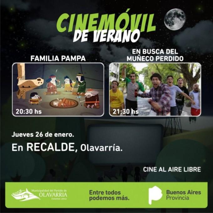 Cine Móvil de Verano