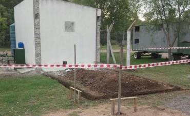 Avanza la construcción de una planta para el tratamiento del agua en Espigas