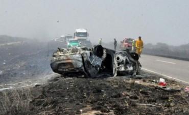 Un camionero de Olavarría participó en fatal accidente