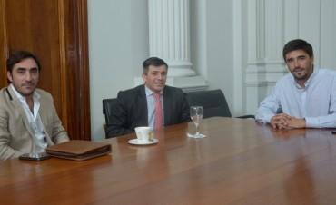Galli se reunió con el Gerente regional del Bapro