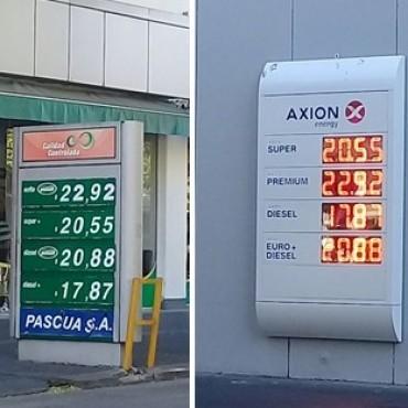 El aumento de combustibles llegó a Olavarría